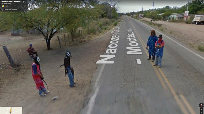 Grusel auf google maps halloween horror bilder - Lustige bilder google ...