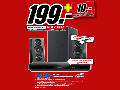 Philips HTB3270 © Media Markt