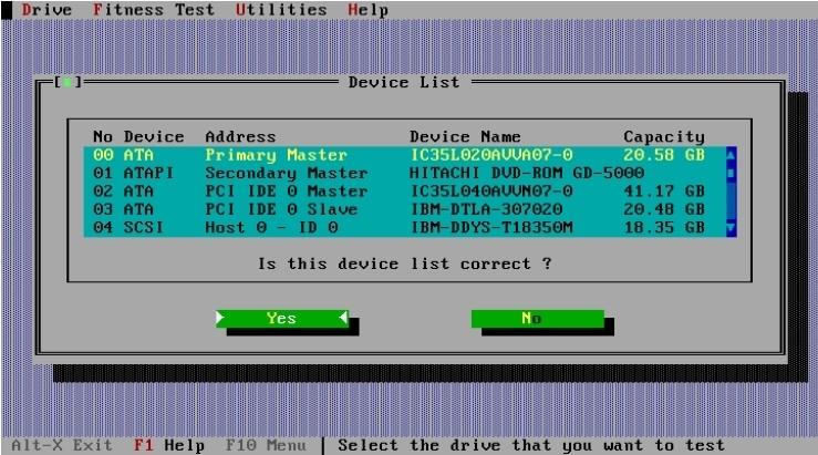 Screenshot 1 - Drive Fitness Test