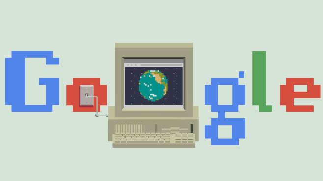 Google Doodle: 30 Jahre WWW©Google