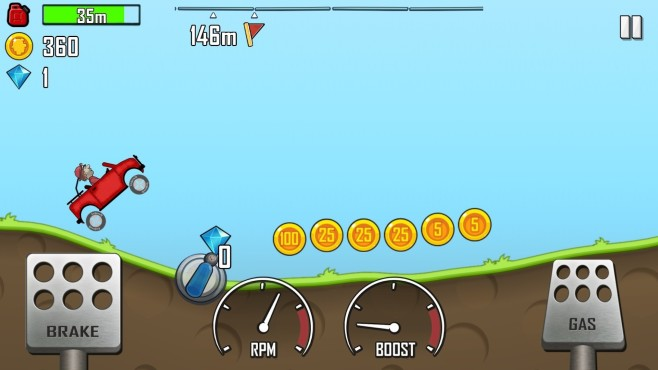 Hill Climb Racing © Fingersoft