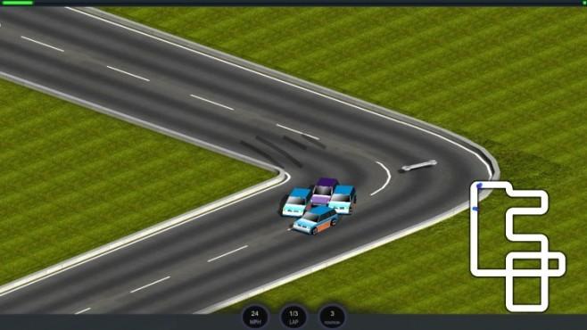 Micro Car Racing: Kurve ©Aaro4130