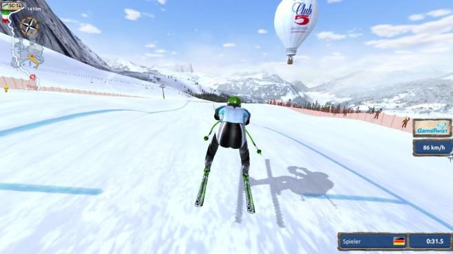 Ski Challenge: Abfahrt ©Greentube Internet Entertainment Solutions