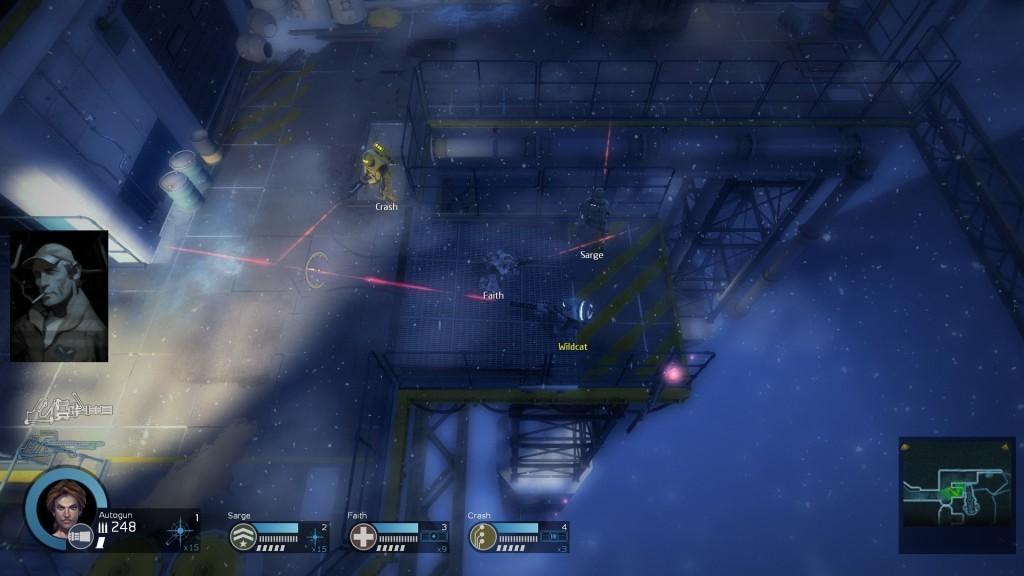 Screenshot 1 - Alien Swarm