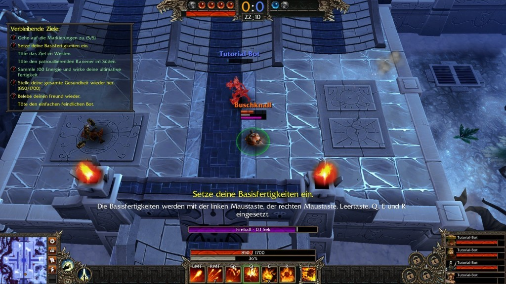 Screenshot 1 - Bloodline Champions