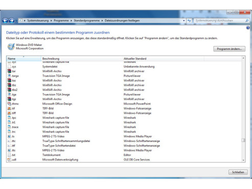 Dateien mit bestimmten Programmen öffnen ©COMPUTER BILD