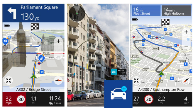 Here Drive+ © Nokia Corporation