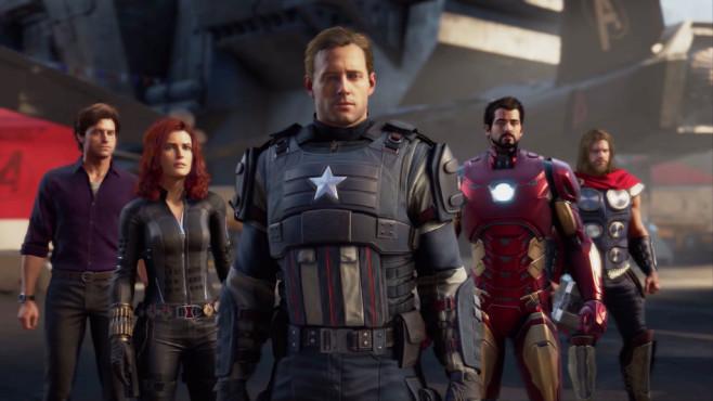 """E3 2019: Die Spiele-Hits von EA, Microsoft, Ubisoft, Square Enix, Bethesda und Nintendo Marvel und Square Enix werkeln gemeinsam an einem """"Avengers""""-Spiel.©Square Enix / Marvel"""