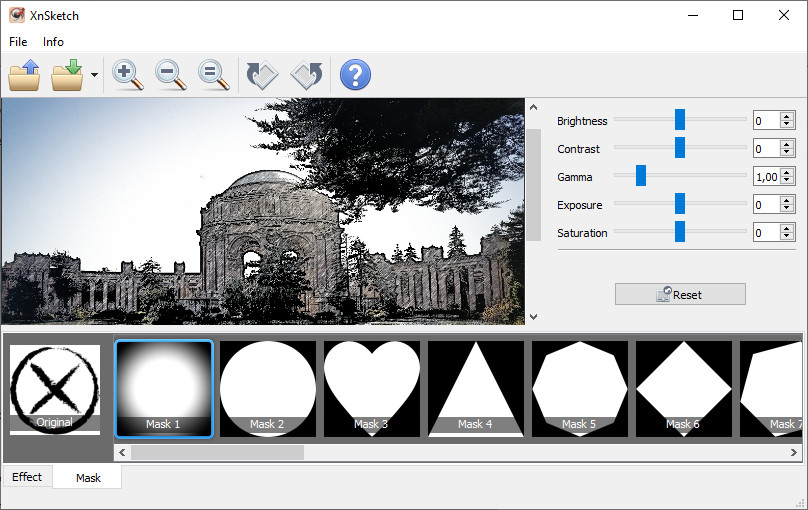 Screenshot 1 - XnSketch
