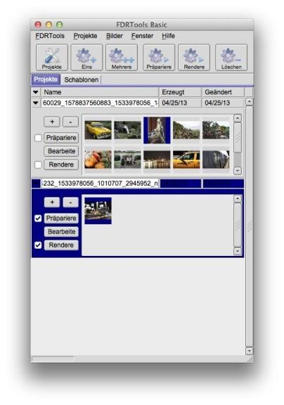Screenshot 1 - FDRTools (Mac)