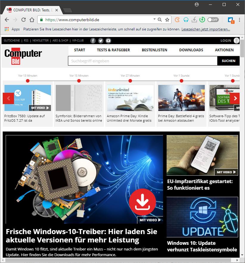 Screenshot 1 - Torch Web Browser