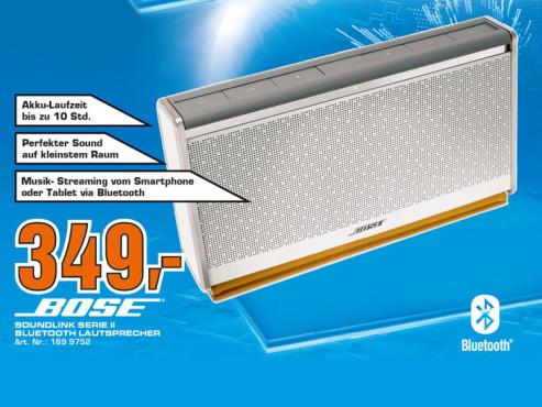 Bose SoundLink Bluetooth Mobile Speaker II ©Saturn