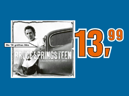 Bruce Springsteen – Collection: 1973-2012 ©Saturn