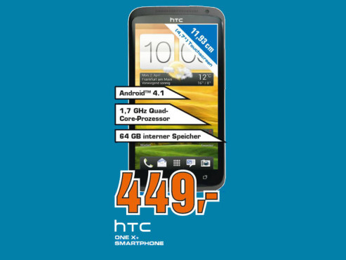 HTC One X Plus 64GB ©Saturn