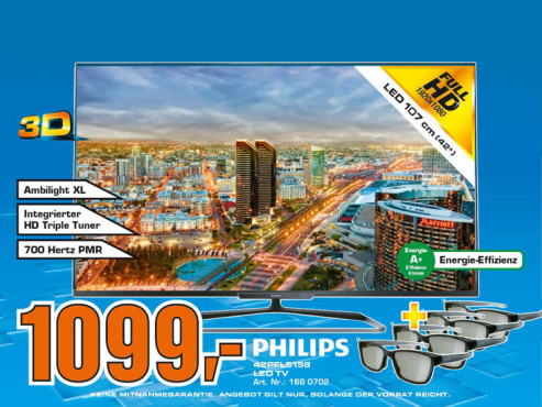 Philips 42PFL6158K ©Saturn