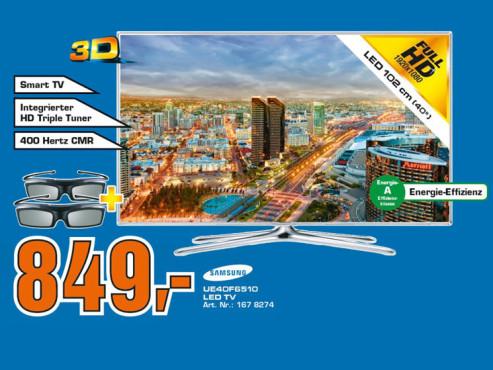 Samsung UE40F6510 ©Saturn
