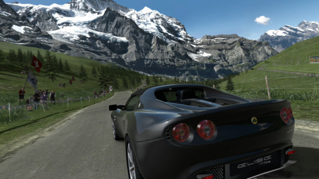 Gran Turismo HD Concept: Eiger Nordwand ©Sony