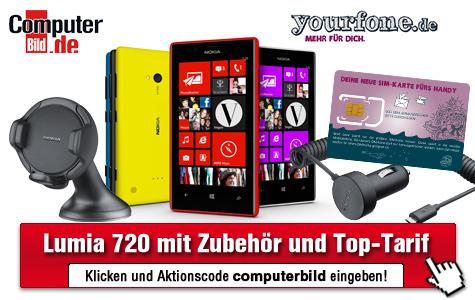 COMPUTER BILD-Vorteil-Center©COMPUTER BILD, Yourfone.de, Nokia