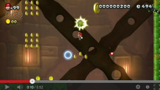 New Super mario Bros. U: Gameplay © Nintendo