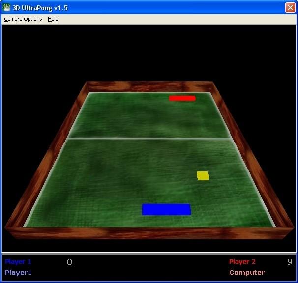 Screenshot 1 - 3D UltraPong