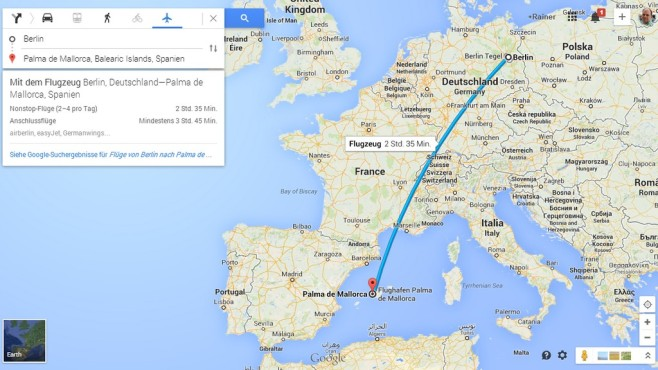 Das neue Google Maps - Bilder, Screenshots - COMPUTER BILD