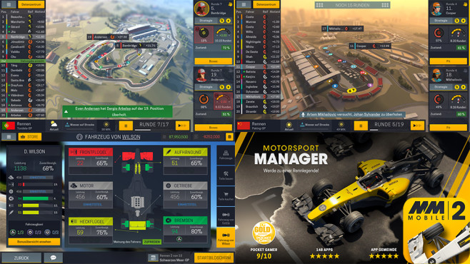 Motorsport Manager Mobile 2 © Playsport Games Ltd