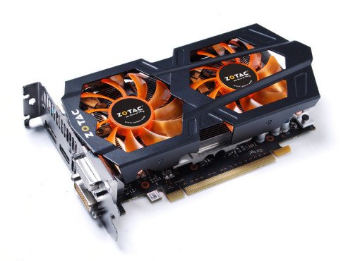 Nvidia Geforce GTX 650 Ti Boost © Zotac