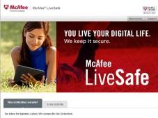 McAfee LiveSafe Screenshot©COMPUTER BILD