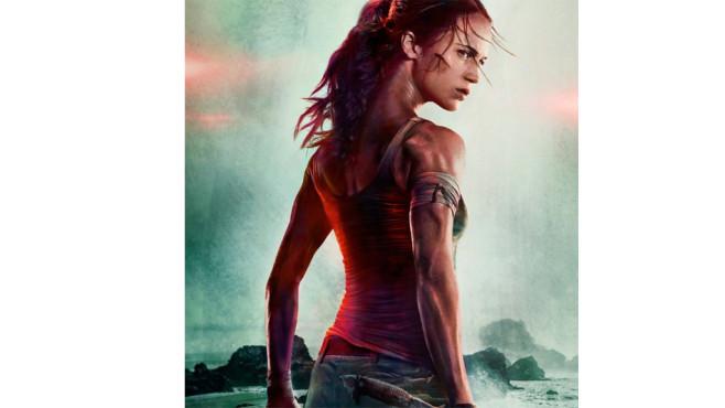 Alicia Vikander als Tomb Raider ©Twitter