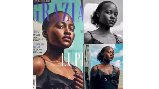 Lupita Nyong'o Photshop-Fail ©Instagram