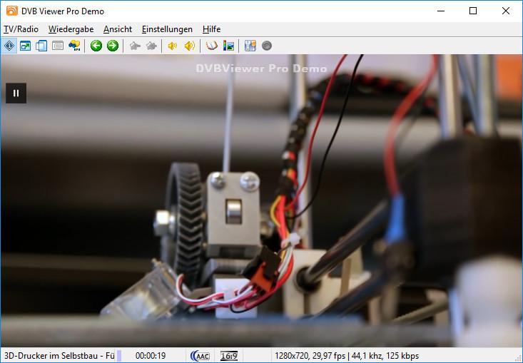 Screenshot 1 - DVBViewer
