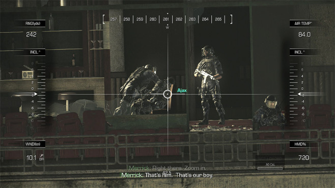 Actionspiel Call of Duty – Ghosts: Ajax ©Activision Blizzard