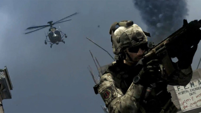 Actionspiel Call of Duty – Ghosts: Hubschrauber ©Activision