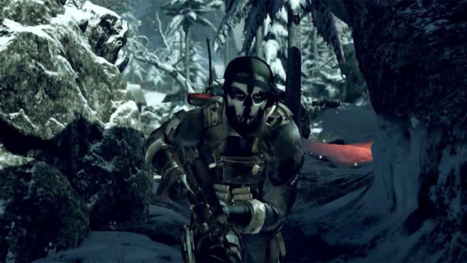 Actionspiel Call of Duty – Ghosts: Maske ©Activision