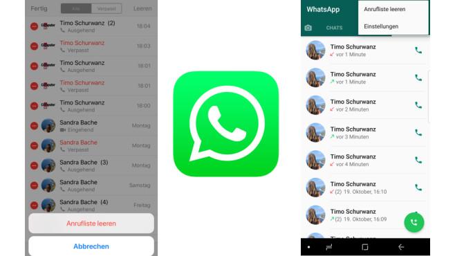 WhatsApp: Anrufliste leeren ©WhatsApp, COMPUTERBILD