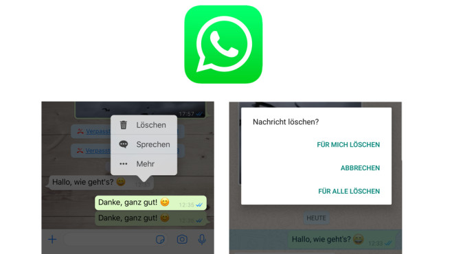 WhatsApp: Chats löschen © WhatsApp, COMPUTERBILD