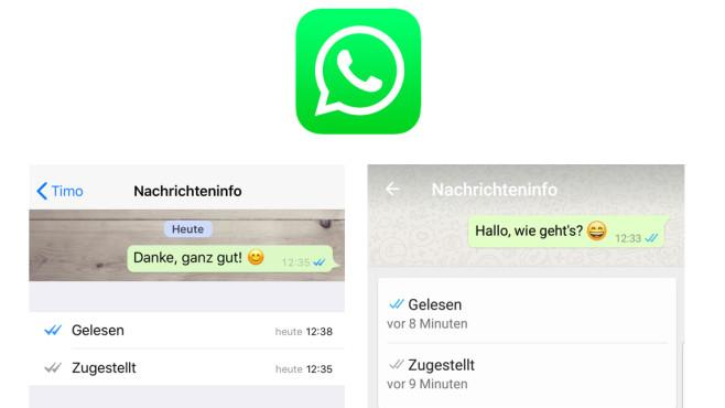 WhatsApp: Das bedeuten die blauen Häkchen ©WhatsApp, COMPUTER BILD