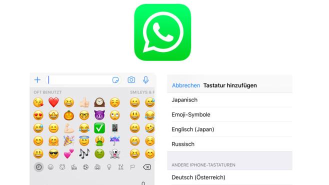 WhatsApp: Emoji-Tastatur nachrüsten ©WhatsApp, COMPUTERBILD