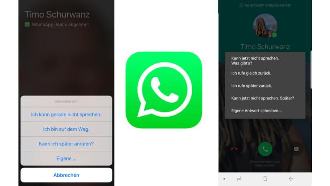 WhatsApp: Freundlich ablehnen ©WhatsApp, COMPUTERBILD