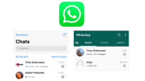 WhatsApp: Lieblings-Chats oben anpinnen © WhatsApp, COMPUTERBILD