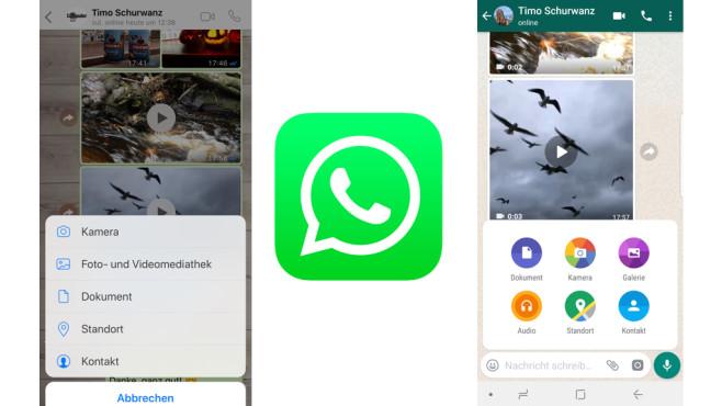 WhatsApp: Standort mitteilen ©WhatsApp, COMPUTERBILD