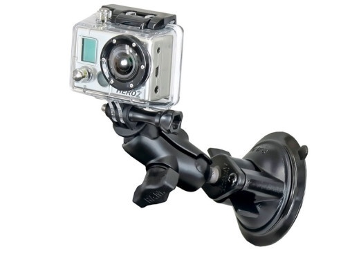 Saugnapfhalterung Action-Cam © Ram Mounts