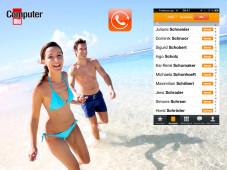 Exklusiv: Per Smartphone 500 Gratis-Minuten aus dem Ausland telefonieren! Stauben Sie als COMPUTER BILD-Nutzer exklusiv 500 Freiminuten für den anstehenden Urlaub ab.©Fotolia - goodluz, Forfone, COMPUTER BILD