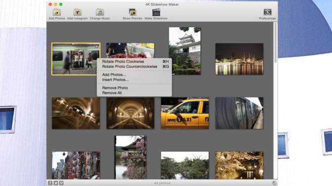 4K Slideshow Maker: Schlanker Foto-Optimierer mit hohen Auflösungen ©COMPUTER BILD