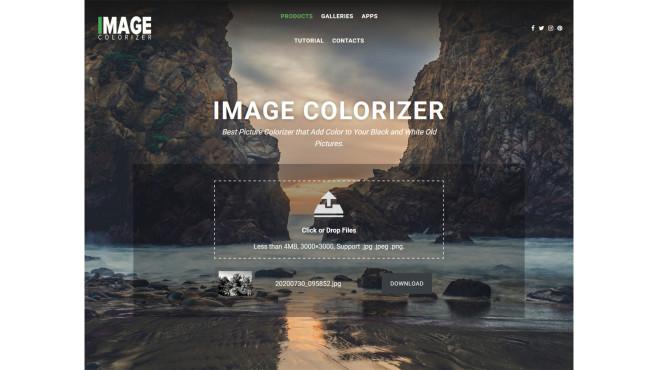AI Image Colorizer ©COMPUTER BILD