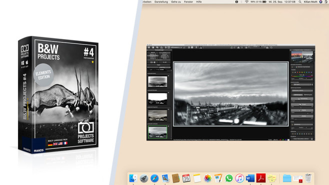 Black & White Projects 4 Elements: Die digitale Dunkelkammer ©COMPUTER BILD, Franzis Verlag