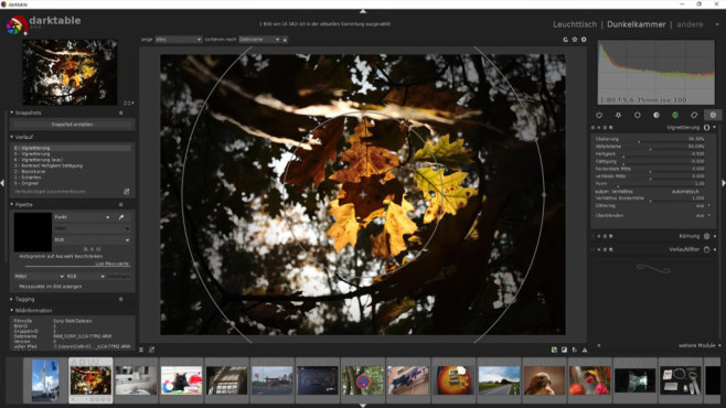 Darktable: Gratis-Alternative zu Adobe Lightroom © COMPUTER BILD