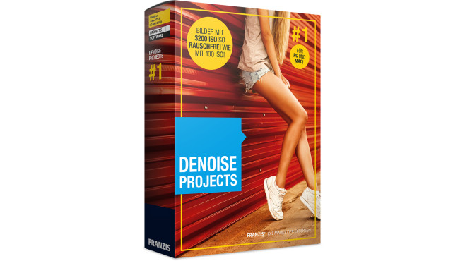 Denoise Projects Standard – Kostenlose Vollversion (Mac) ©COMPUTER BILD