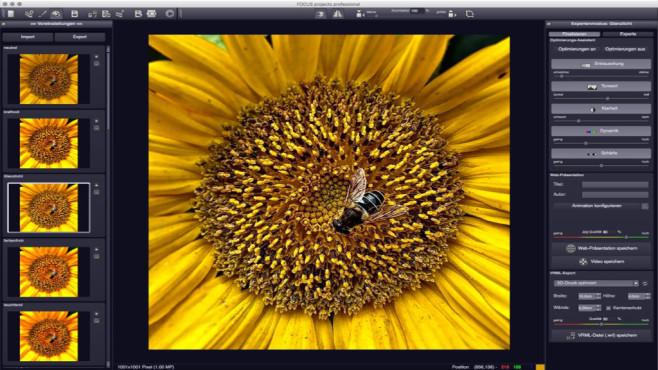 Focus Projects Professional: Mikro- und Makrofotografien für jedermann ©COMPUTER BILD, Franzis Verlag