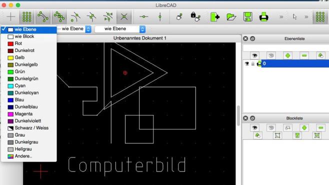LibreCAD: Technische 2D-/3D-Pläne entwerfen ©COMPUTER BILD